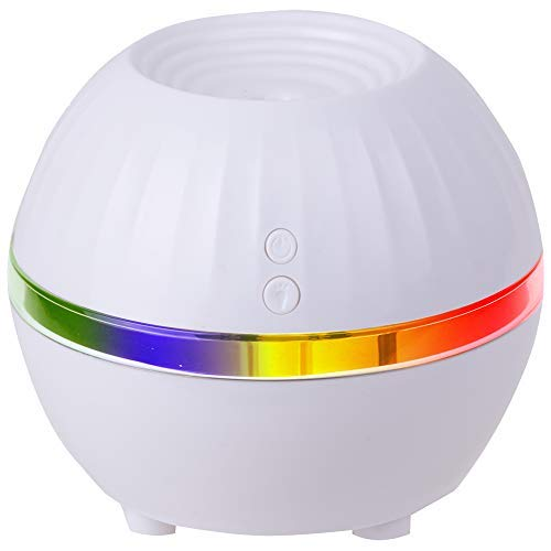 Air Innovations Ultrasonic Cool Mist Personal Humidifier LED Mood Light Model AI-100– Travel Size – For Small Rooms Up To 150 sq. ft. (white)