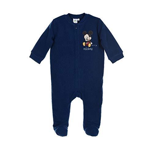 pyjama bebe combinaison Disney Mickey - Bleu foncé, 3 mois