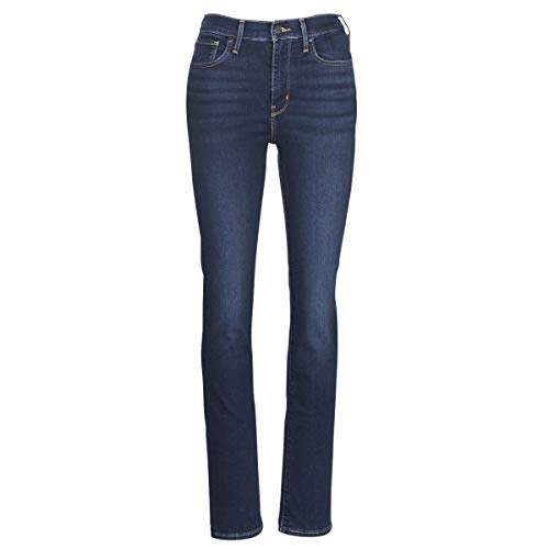 Levi's Vaqueros 724 High Rise Straight Role Model Azul Mujer