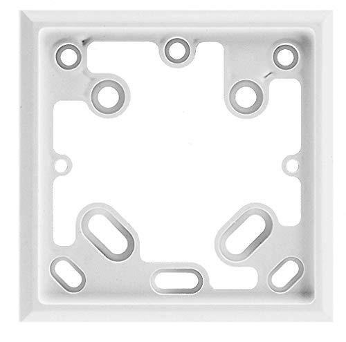 Eberle Controls 7632399001 Adapterrahmen ARA 1 E (zum Abdecken von eingeputzten UP-Dosen, Montagezubehör für Raumtemperatur-/Klimaregler)