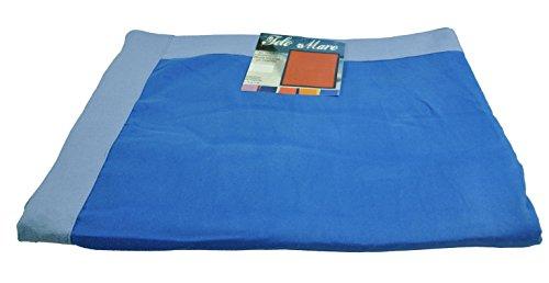 Casatessile Maxi Gran Playa Toalla Microfibra 155 x 170 cm. - BLU Royal
