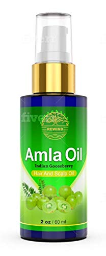 AMLA Oil for Hair - Pure 100% Natural - Prevent Premature Greying - Stops Alopecia - Darkens Hair Naturally - Promotes Hair Growth - No Chemicals, Synthetics - High Concentrate Extract Pump Spray