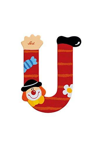 Trudi 81757 - Buchstabe Clown U