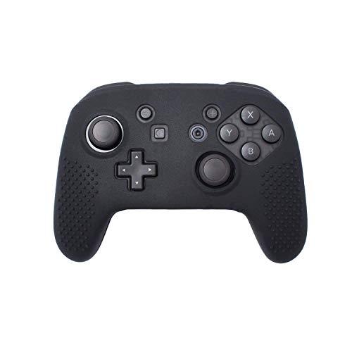 yufulai Nintendo Switch 用ケース ニンテンドー スイッチ コントローラー用 カバー 柔軟 極薄 超軽量 耐衝撃 傷つけ防止 着脱簡単 保護ケース(ブラック)