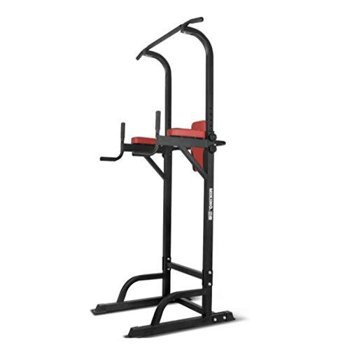 Tire de la torre de potencia Medidor de altura ajustable Pull superior varilla cubierta Paralelas individuales Deportes fitness entrenamiento de la fuerza multifuncional individuales Paralelas horizon