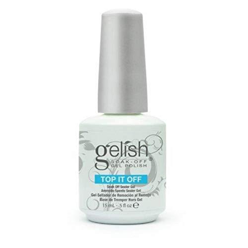 Harmony Gelish Esmalte de gel de uñas (Soak off Sealer Top it off) - 15 ml.