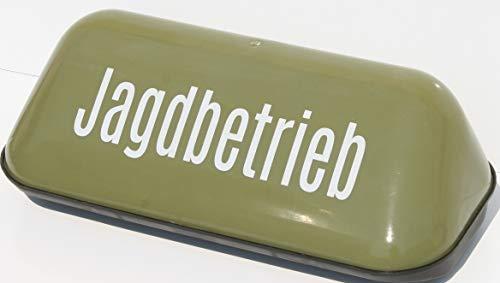 HaWe Dachschild für Jäger Jagdbetrieb Dachaufsetzer geprüft extra Starke Magnete