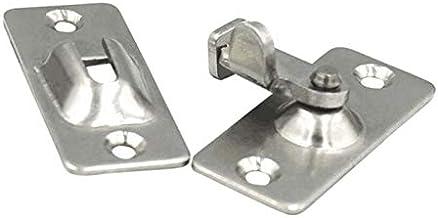 Mini roestvrij staal 90 graden rechte hoek Buckle Hook Grendel for deurslot
