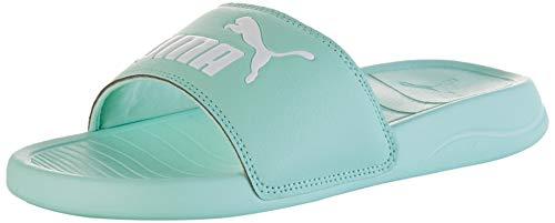 Puma Damen Popcat 20 WNS Zapatos de Playa y Piscina, Grün (Mist Green White), 42 EU