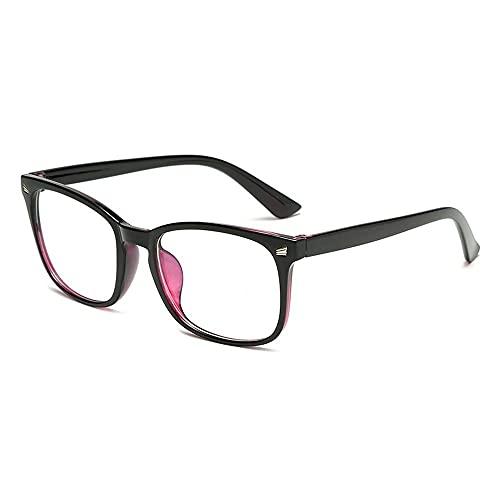 YOUQU Gafas Luz Azul,Unisex,Anti Fatiga Ocular,Anti Blue Light Monitor Gaming Goggles,Eye Protection Nerd Gafas De Lectura (Sleep Better),Type,3
