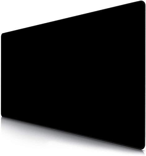 AILRINNI Übergröße Mauspad Gaming, 1200x600x3 mm XXXL Mauspad Große, rutschfeste Mauspad für Schreibtisch Büro, Spiel, PC, Laptop, Schreibtisch (Black)