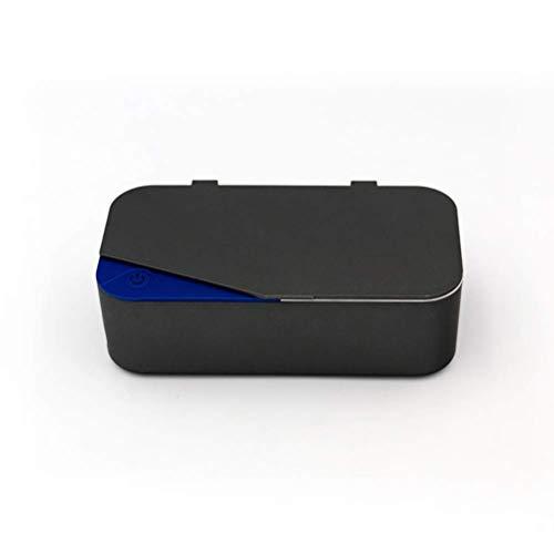 CYGG Kit de Limpieza de joyería ultrasónica - Nueva máquina de Limpieza Premium y solución de solución de Limpiador de líquidos - Limpiador Digital Sonic para Relojes Gafas Dental y más, B