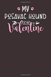 My Posavac Hound is My Valentine: 6x9 Cute Posavac Hound Notebook Journal Paper Book for Dog Mom and Dog Dad
