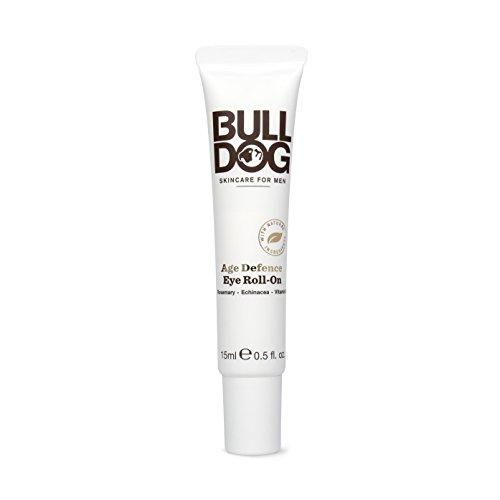 Bulldog Skincare For Men - Roll-on Age Defense hombre ayuda a recudir la aparición de ojeras, arrugas y bolsas en la zona del contorno de ojos, ingredientes naturales, 15 ml