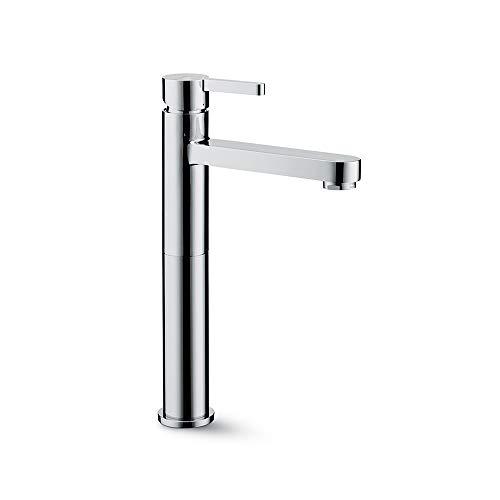 Newform Ergo, Miscelatore monocomando versione alta per lavabo da appoggio Art. 65820