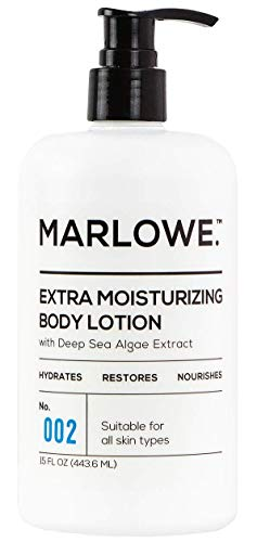 MARLOWE. 002 Extra Moisturizing Body Lotion 15 oz | Daily Lotion for Dry Skin for Men and Women...