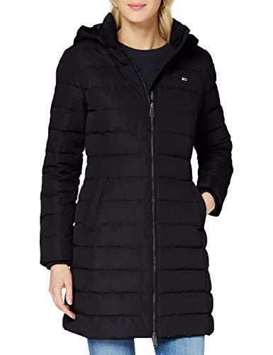 Tommy Jeans Damen Tjw Quilted Down Coat Jacke, Schwarz, S