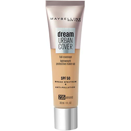 Maybelline New York - Perfecteur de Teint - Protection Anti-UV & Anti-Pollution - Dream Urban Cover - Teinte : Almond (235) - 30 ml
