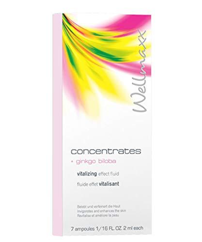 Wellmaxx concentrates Ampullen mit Ginkgo Biloba-Extrakt 7 X 2 ml Ampullen