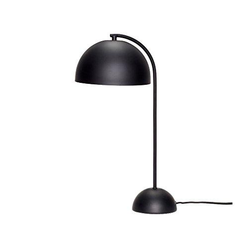 HÜBSCH - Lampe de bureau épurée design métal noir Hübsch