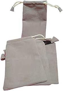 Fabric JWELLERY POTLI Grey (Small Size 4 x 6) MOQ 100