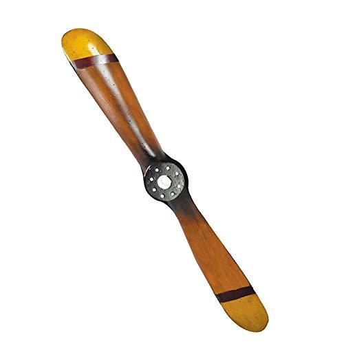 Authentic Models - Dekoobjekt - Propeller - Flugzeug Propeller - Klein - (LxTxB): 70 x 4,5 x 8 cm - Holz