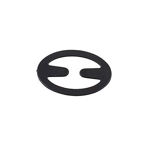 Anjing Lot de 2 ensembles de bretelles de soutien-gorge pour femme avec clip dos nageur (ovale)