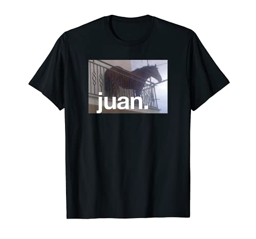 Juan Meme Horse On Balcony Meme T-Shirt