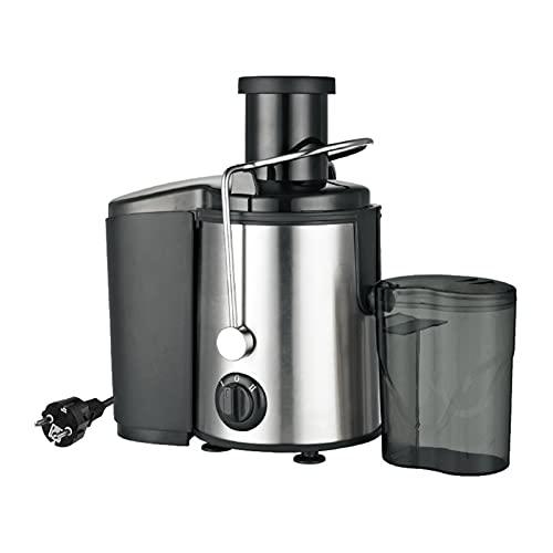 Staright Extrator de máquinas de espremedor de suco 800W centrífugas espremedoras elétricas anti-gotejamento 2 velocidades ajustáveis com jarro de suco e recipiente de polpa para vegetais de frutas