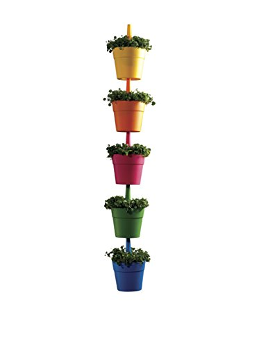 Keter 17197839 Rainbow Planter -Set di 5 vasi per Piante