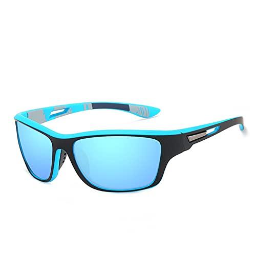 KANGDE Gafas De Sol Polarizadas Vintage para Hombre para Hombres, Deportes Al Aire Libre, Gafas De Arena A Prueba De Viento, Gafas De Sol CláSicas para ConduccióN, ProteccióN UV
