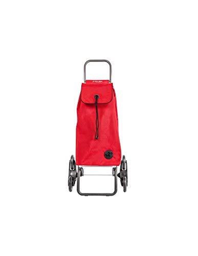 Poussette de marché Rolser I-Max MF 6 Roues Pliante Monte escaliers - Rouge