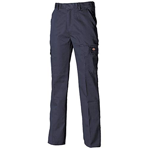 Dickies - Pantalones Chinos Modelo Redhawk Hombre Caballero (Cintura 107cm / Long) (Azul Marino)