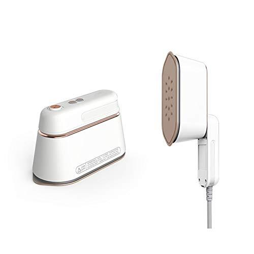 Mini planchadora, Prendas de Mano Máquina de Planchado Máquina de Planchado Plancha Portátil Steam Pequeño Mini Planchar Ropa Artifact (Color : White)