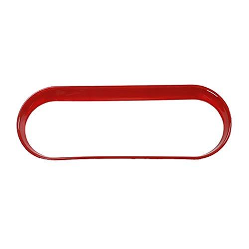 FangFang Coche ABS Aire Acondicionado Interruptor Ajuste de Ajuste Frame de Ajuste Accesorios Interiores Ajuste para Suzuki Jimny 2007-2017 (Color Name : Red)