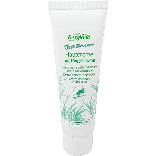 Bergland Teebaum Hautcreme mit Ringelblume, 50 ml Creme