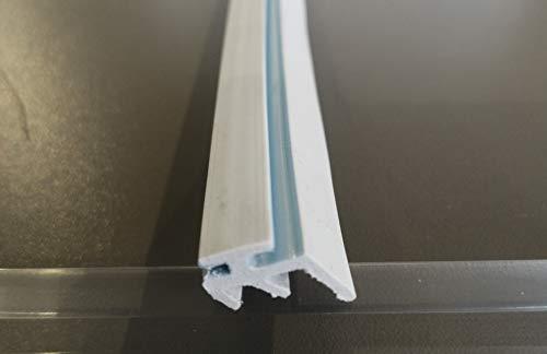 Lippendichtung Modell A Ersatzdichtung für Stegplatten-Profile (60 m Rolle)