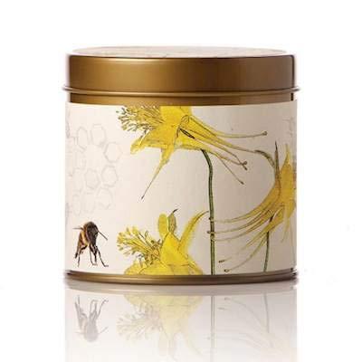 Rosy Rings Honey Tobacco Botanical 8 oz Signature Tin Candle