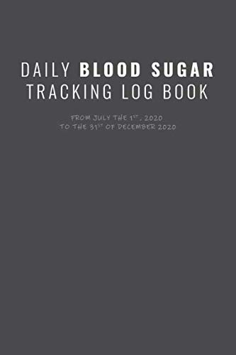 DAILY BLOOD SUGAR LOG BOOK: Daily Personal journal to record and track blood Sugar and food eaten, Diabetic Glucose Log, Blood Sugar Monitoring, Diabetes Journal Log Book, Diabetes Diary, 6 x 9 inch