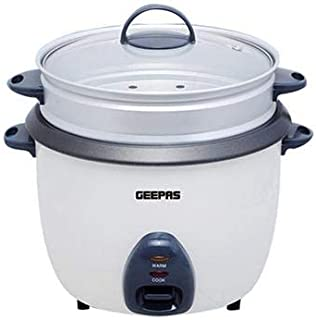 Geepas 2.8 Liter Metal Rice Cooker - GRC4327
