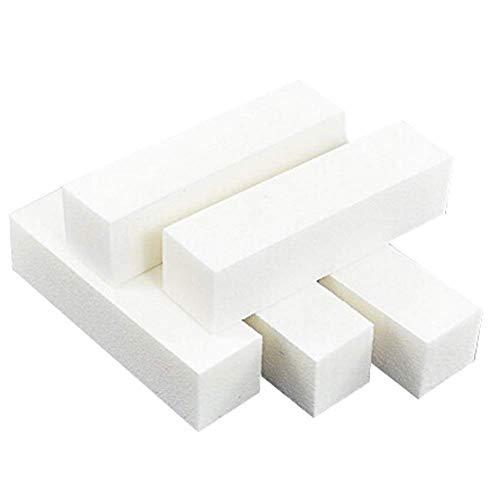Ogquaton 5 Stück Nail Art Care Buffer Buffing Schleifblock Dateien 4-Wege-Nagellack Feilen Art Pediküre Maniküre Tipps