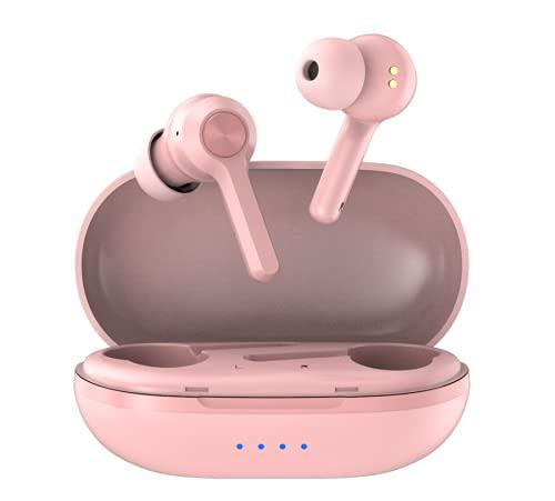 Wireless Earbuds, xMpow MFly Wireless Headphones w/Wireless Charging Case,...