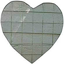 """18"""" Wired Solid Heart Fresh Foam Holders, 2 - Pack"""