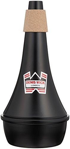 Denis Wick Straight Dämpfer für Posaune Praxis schwarz