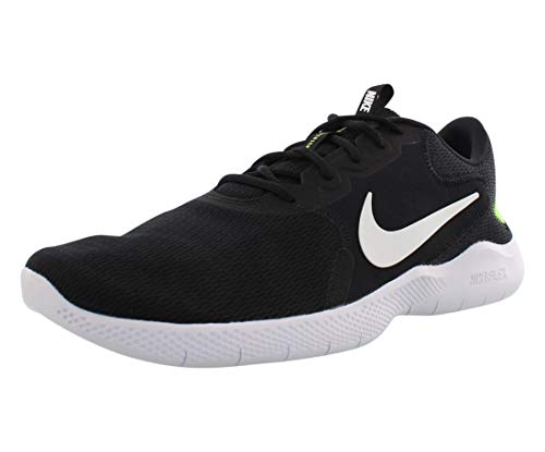 Nike Men's Flex Experience Run 9 Shoe, Black/White-Ghost Green-Iron Grey-Particle Grey-Violet Star, 9.5 Regular US