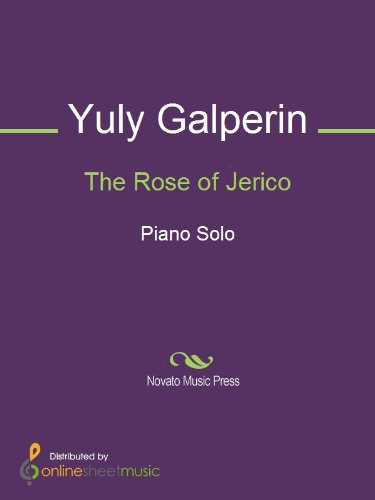 The Rose of Jerico - Piano (English Edition)