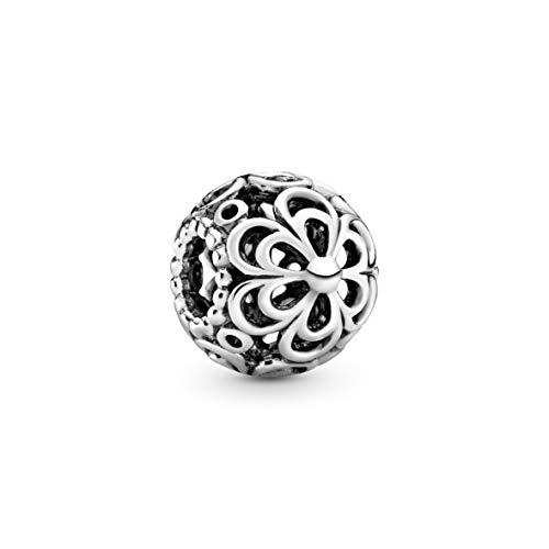 Pandora durchbrochende Apfelblüte Charm Sterling Silber 790965