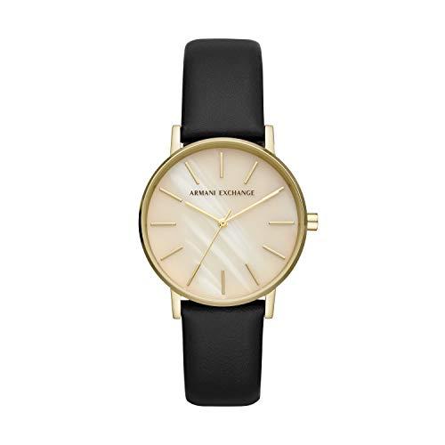 Armani Exchange Lola quarzo crema quadrante orologio donna AX5561