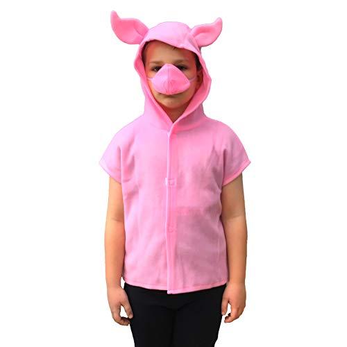 Disfraz infantil de cerdo pequeño