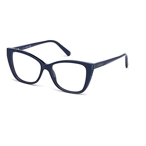 Swarovski Occhiali da Vista SK5290 090 53-15-140 donna blu lucido